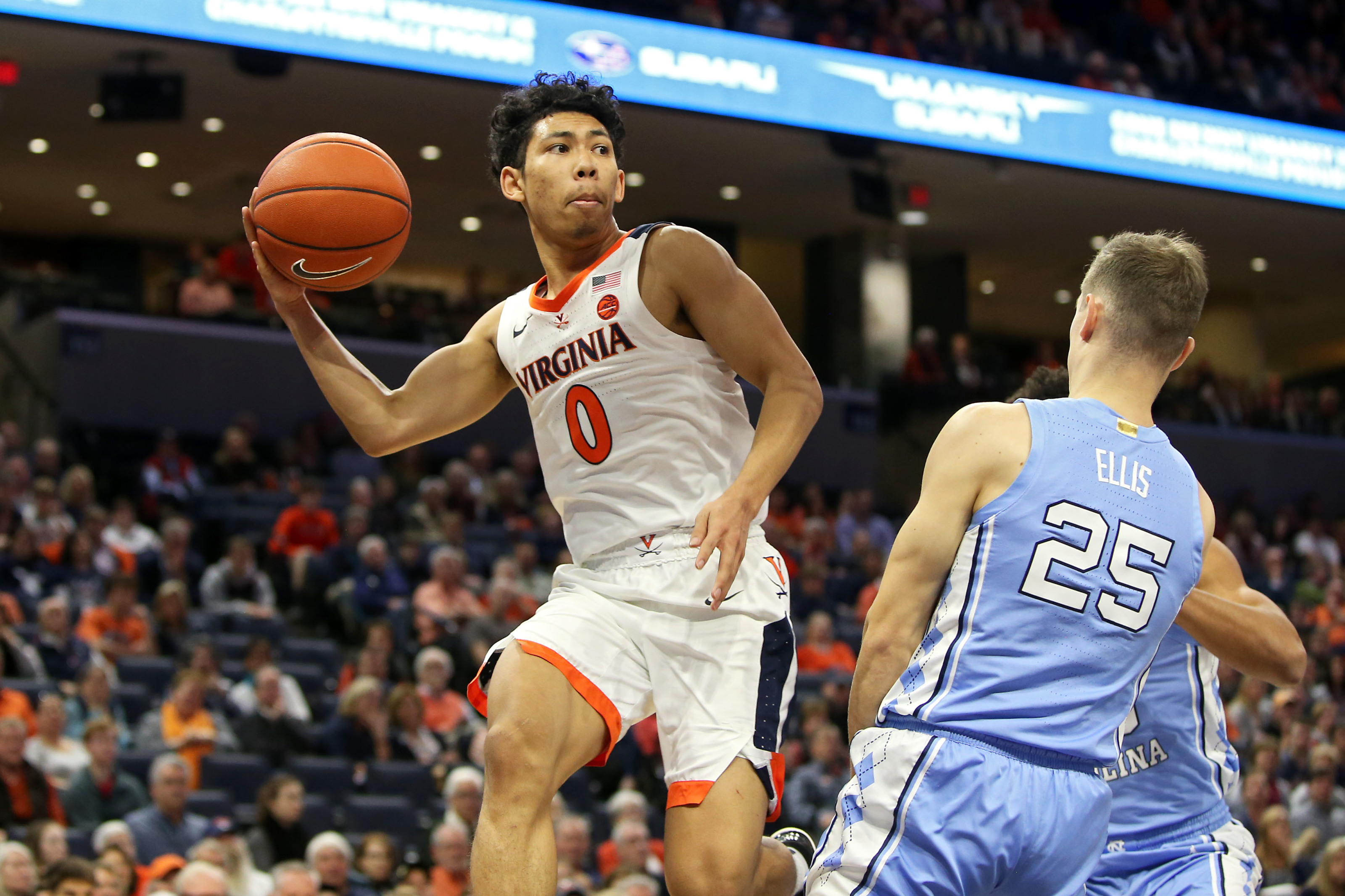 Caleb Ellis North Carolina Tar Heels Final Four Basketball Jersey