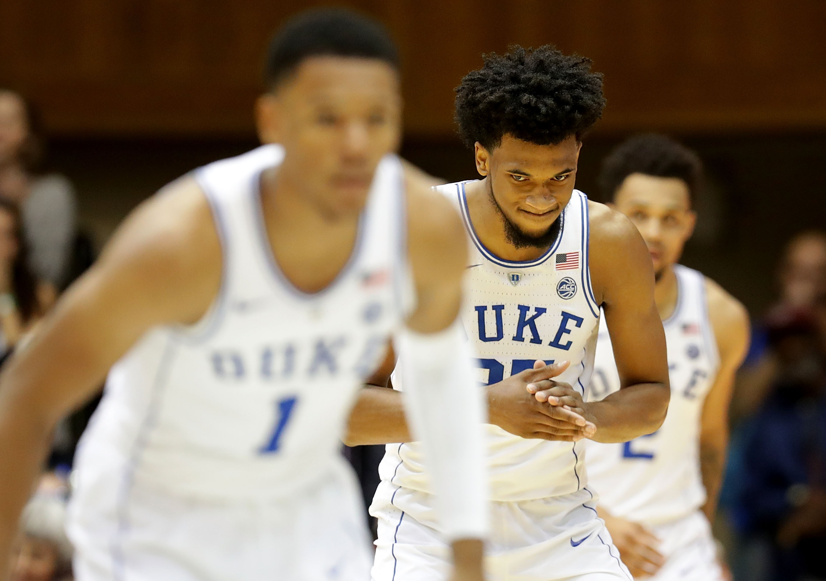 Unranked Boston College upsets top-ranked Duke, 89-84