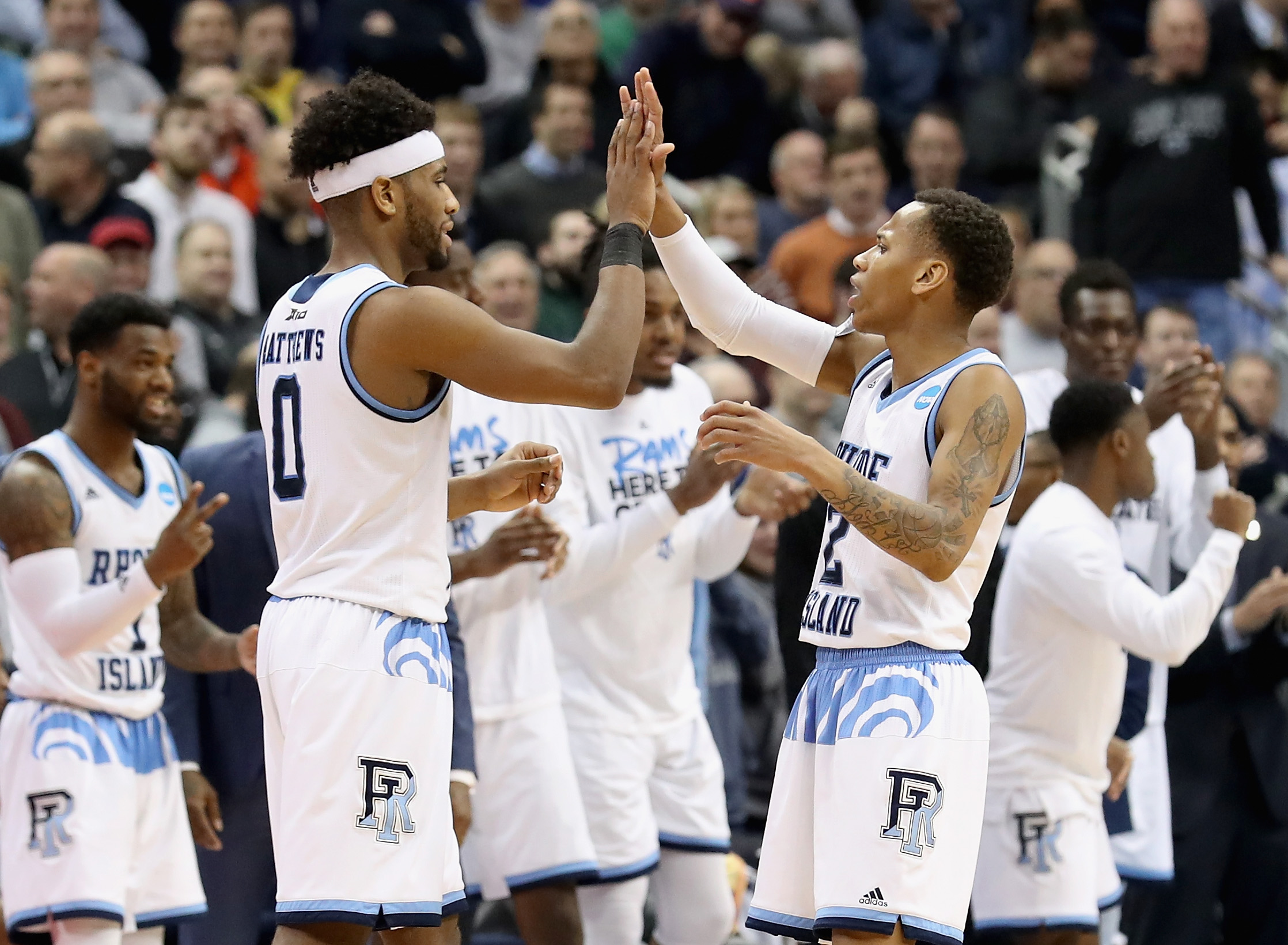 NCAA Tournament Second Round: Duke Blue Devils vs. Rhode Island Rams