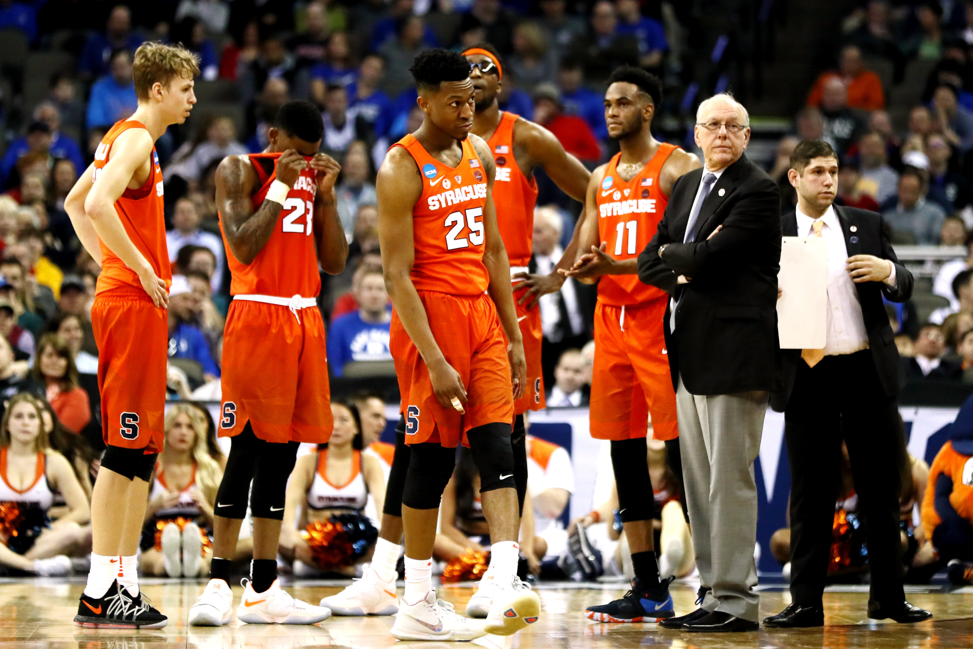 Syracuse Basketball Jim Boeheim S Comments Regarding Darius Bazley Aren T Problematic